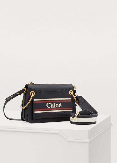 ChloéRoy small double shoulder strap bag
