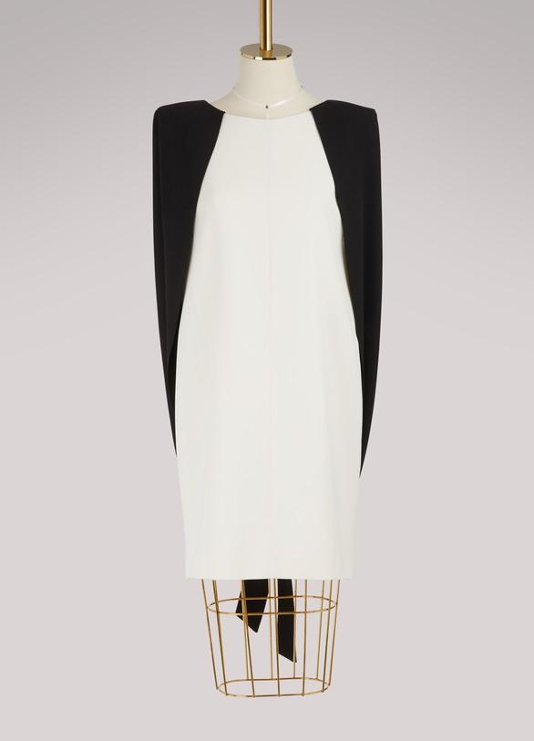 GivenchyRobe courte avec cape