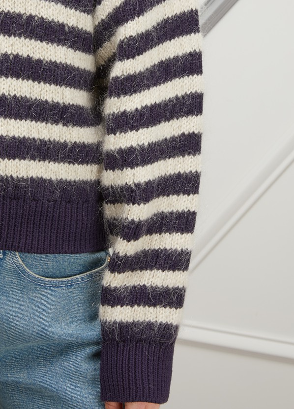 d055f156cab Acne Studios Oversized striped sweater ...