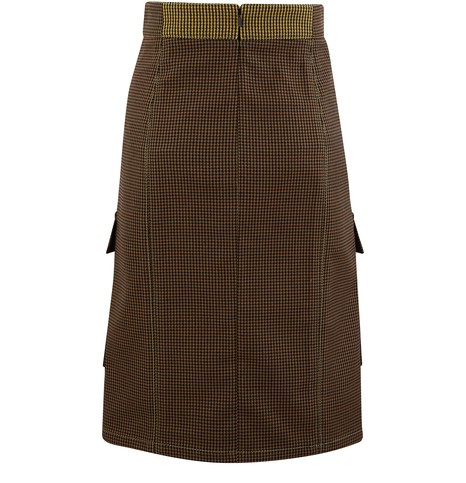 CHLOE Blended wool skirt