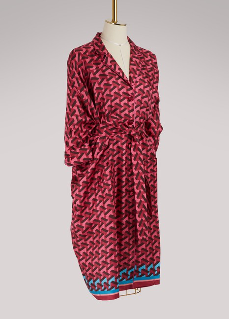F.R.S For Restless Sleepers Robe en soie Anteros