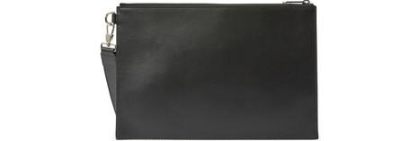 BURBERRYEdin leather clutch