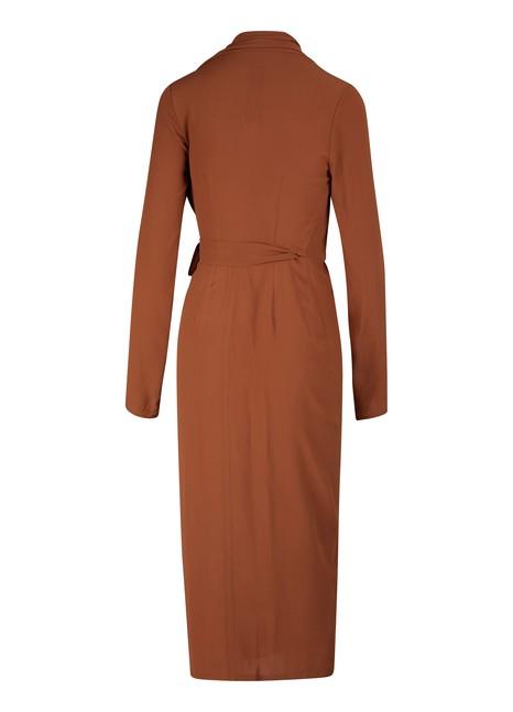 RICK OWENSCrossed velour dress