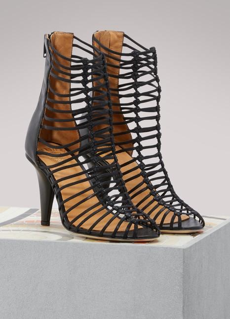 Soloviere Hélène cage sandals VR66XoAy