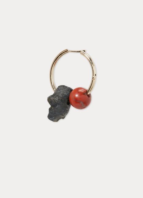 PROENZA SCHOULERMetal and stones single earring