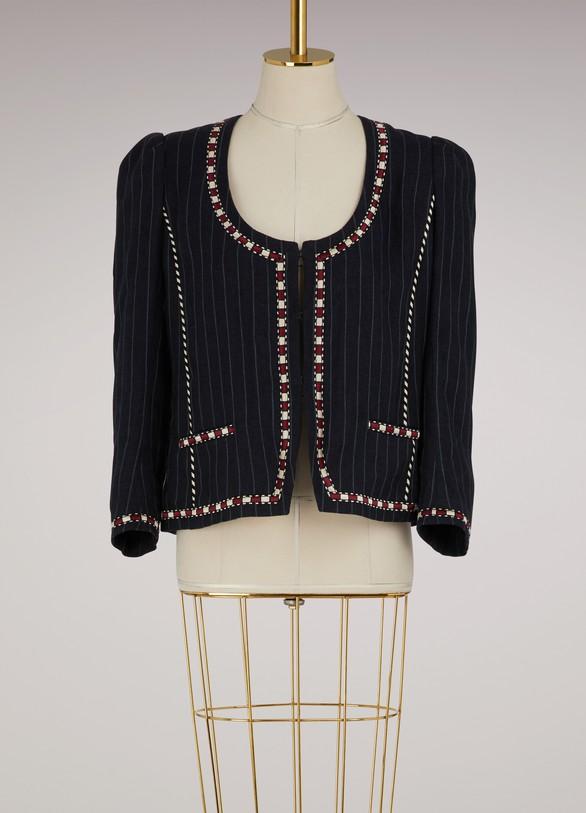 Isabel Marant EtoileLinen Jilo jacket