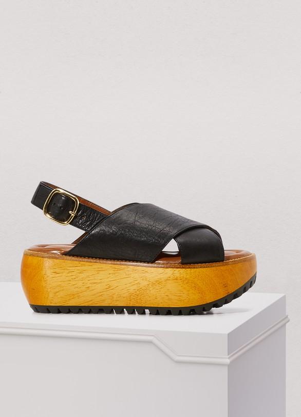 MarniPlateform sandals