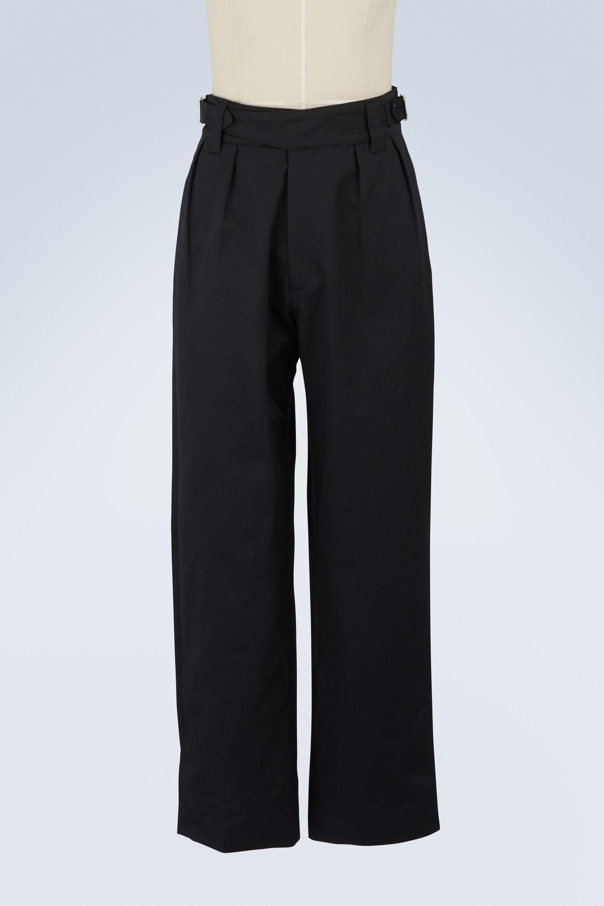 MAISON KITSUNE | Worker pants | Goxip
