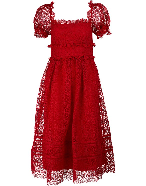 SELF PORTRAITHibiscus dress