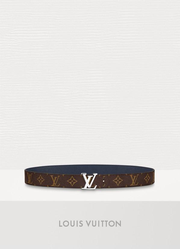 ea3138c435f7 Louis Vuitton LV Initiales 30mm Reversible Belt ...