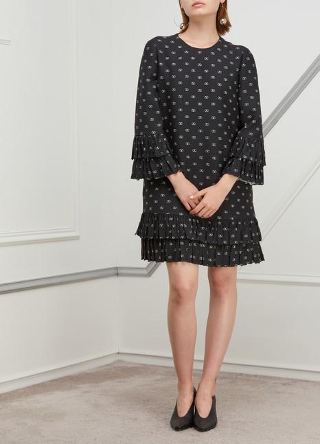 VALENTINOLong-sleeved short dress