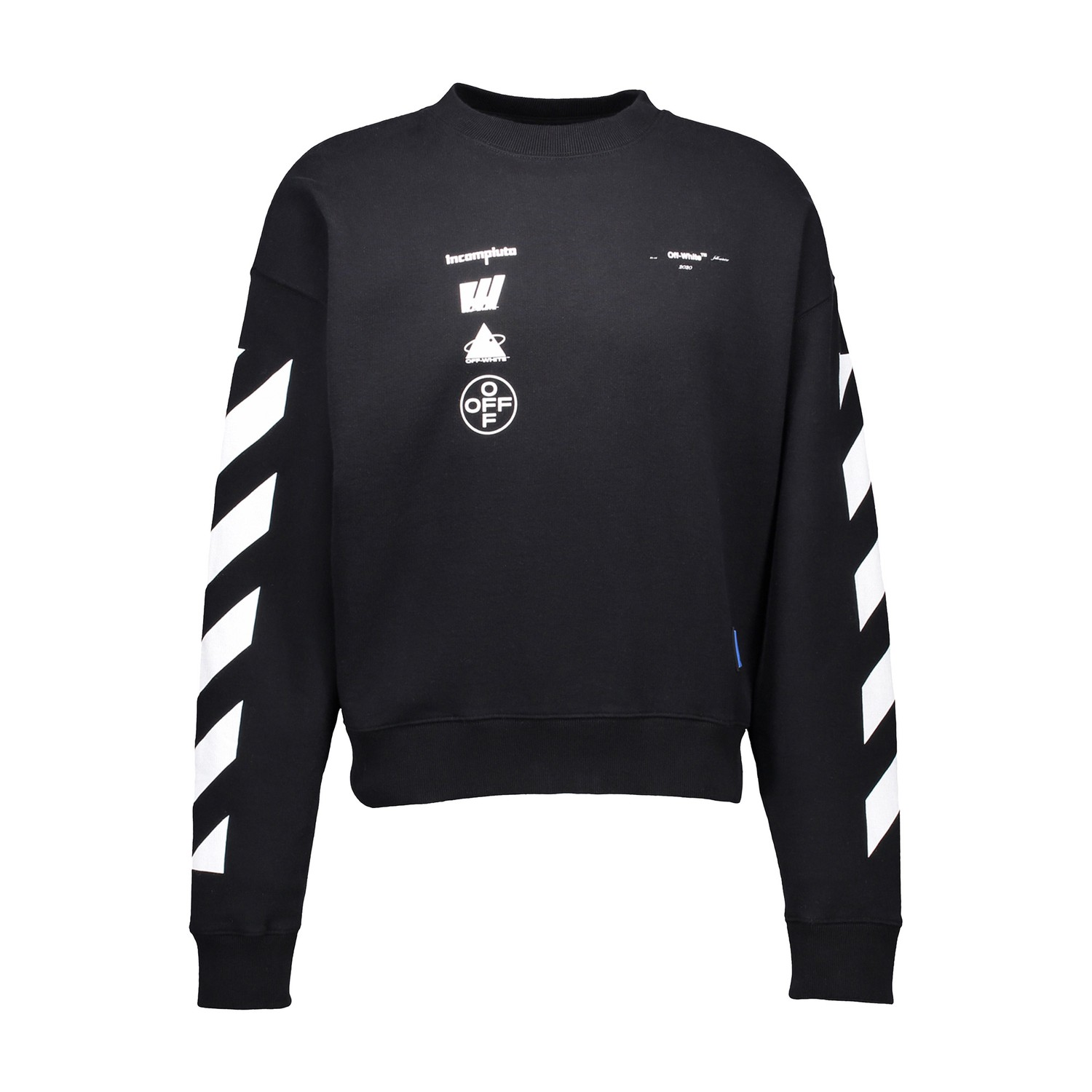 Off-White Diag Mariana De Silva Sweatshirt In Black