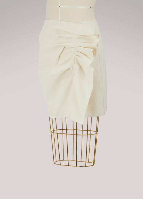 Isabel MarantLefly short cotton skirt