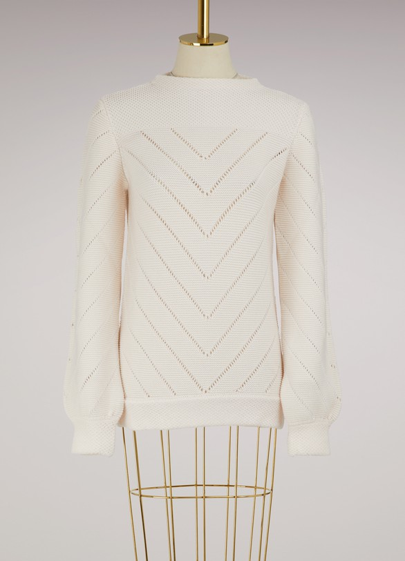 MolliSweater en pointelle d'hiver