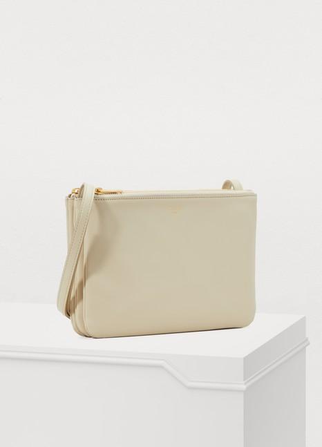 CelineTrio small model bag in smooth lambskin