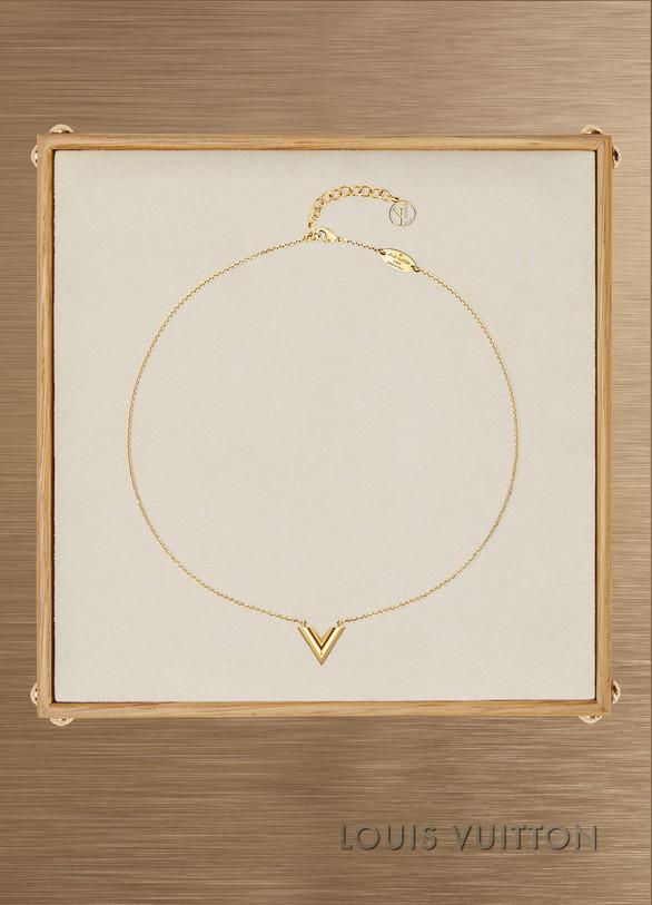 Louis VuittonEssential V necklace