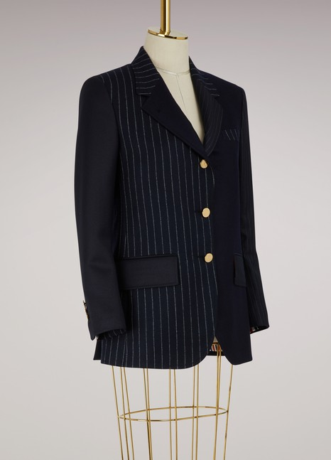 Thom Browne Melton Wool Jacket