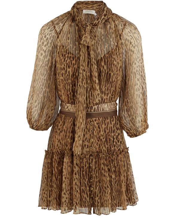 ZIMMERMANNEspionage silk dress