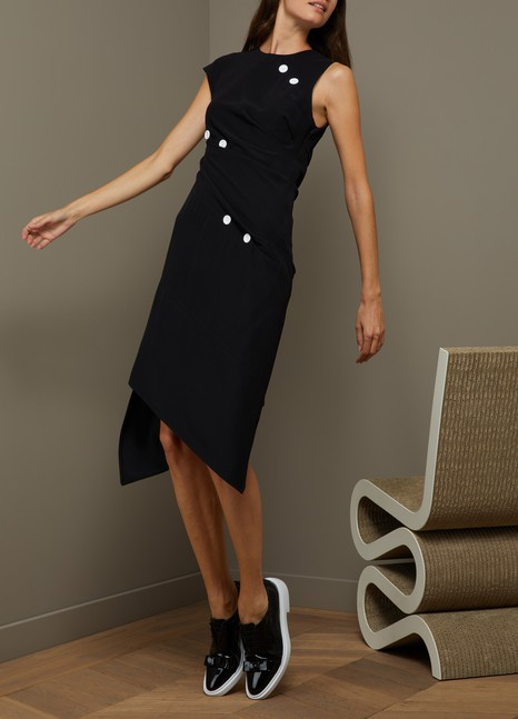 Proenza SchoulerSpiral satin dress