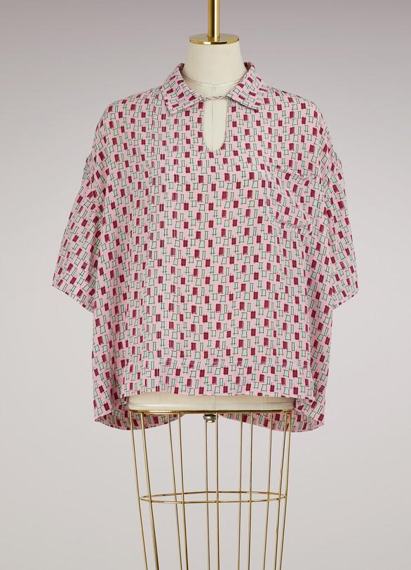 MarniPolo neck blouse