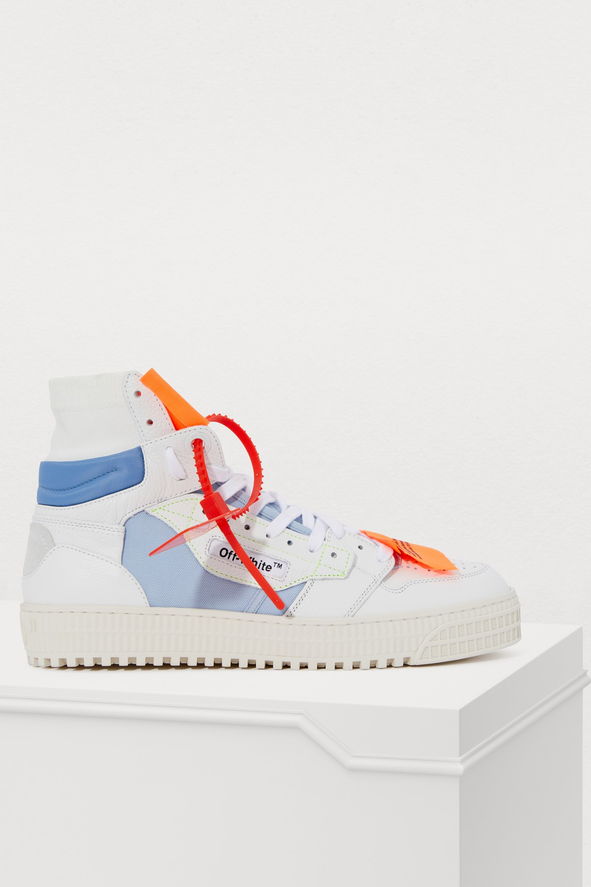OFF-WHITE | Off Court High-Top Sneakers | Goxip