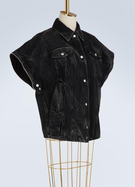 GivenchyVeste oversize en denim