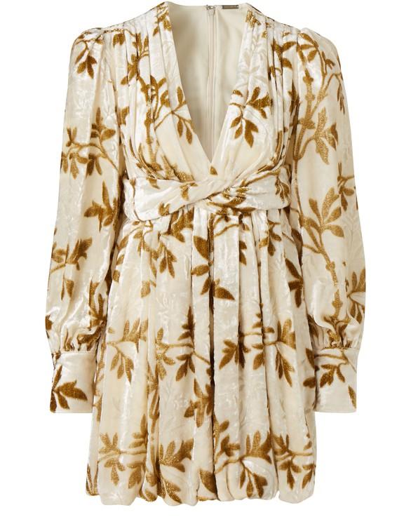 DODO BAR ORAnatalya velvet dress