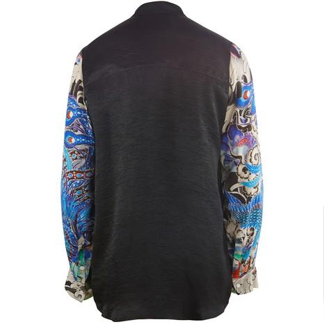 KOCHÉPrinted silk shirt