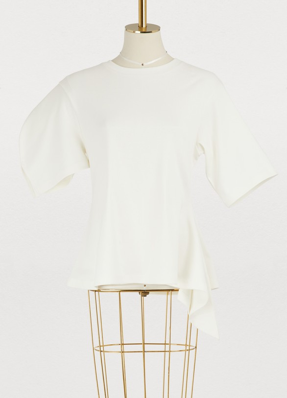 Aalto Top with ruffles on the sleeves