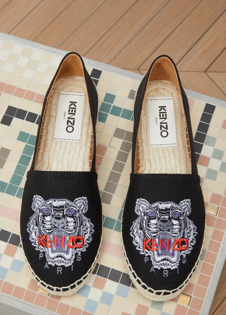e7aa85b76c9 Women's Tiger cotton espadrilles | Kenzo | 24S | 24S