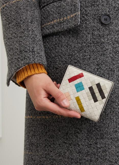 Bottega VenetaAbstract wallet