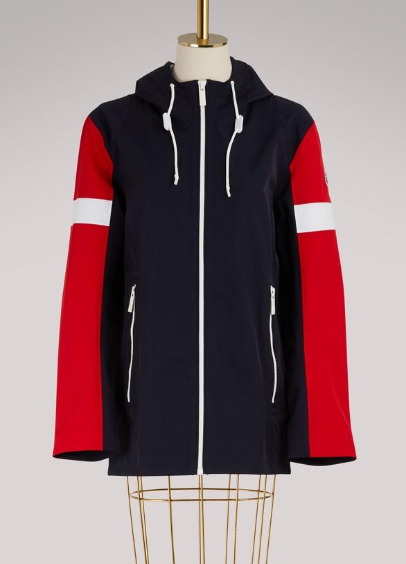 FusalpLong hooded jacket