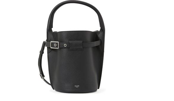 CELINENano Big Bag bucket bag in grained calfskin