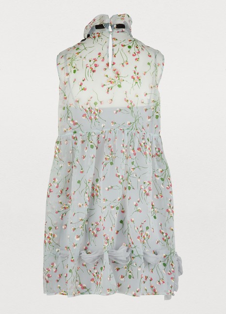 MIU MIU Flower print dress