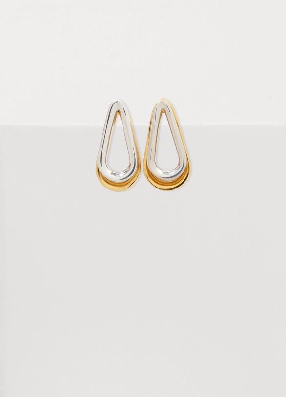 Annelise MichelsonEllipse two-toned double earrings