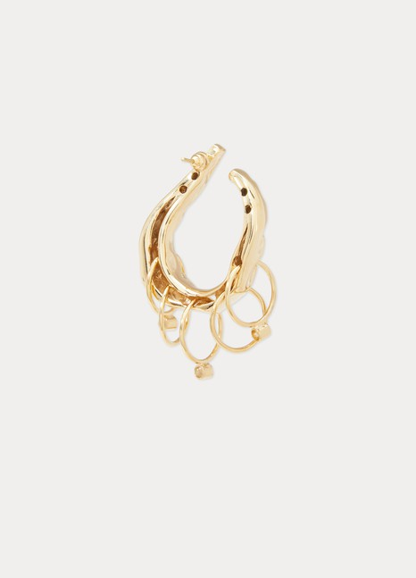 ALICAN ICOZ Organic + Attico Earrings