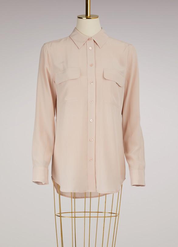 EquipmentSlim Signature Shirt Long Sleeves