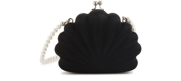 Beads Shell Pouch by Balenciaga