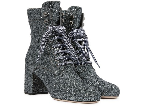 MIU MIUSequinned ankle boots