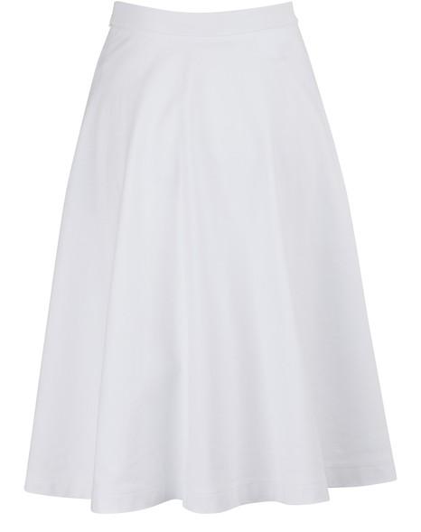 PRADAPleated midi skirt