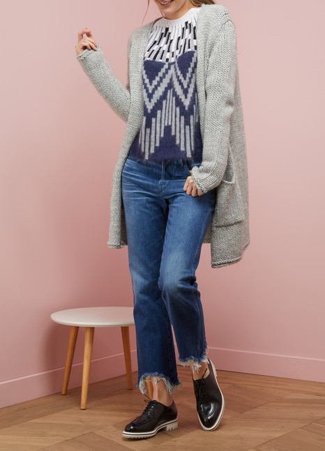 Majestic Filatures Chunky knit cardigan