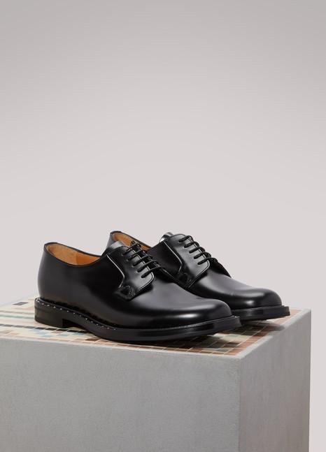 Derbies Chaussures Oxford En Vente Dans La Sortie, Blanc, Cuir, 2017, 36,5 39 40 Churchs