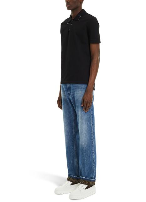 GIVENCHYPiercing polo shirt
