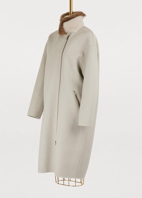 32 Paradis Sprung FrèresEspace reversible coat