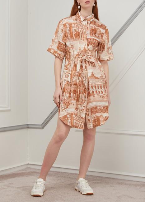 ACNE STUDIOSPrinted midi dress