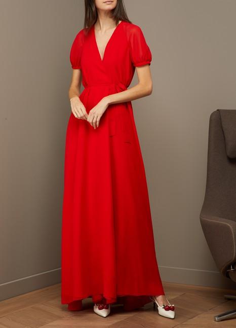 LanvinGeorgette long dress