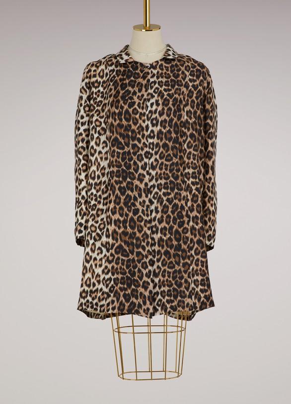 La Prestic OuistonSilk leopard jacket