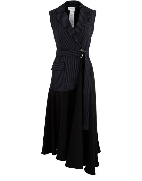 SPORTMAXCesare blended wool dress