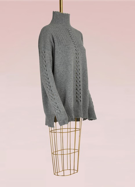 Barrie Twisted Cashmere Sweater