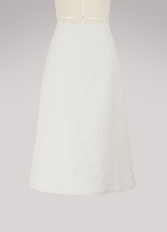 Sofie d'Hoore Savant cotton skirt
